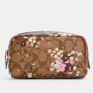 Coach Make Up Floral Bag